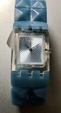Swatch Blue Posh Watch Straps + Free Shipping (subk157a)