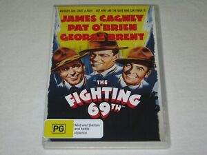 The Fighting 69th - James Cagney - Brand New & Sealed - Region 4 - DVD