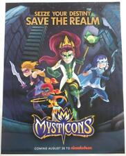 Sdcc 2017 Exclusive Mysticons Nickelodeon Poster
