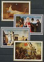 Rwanda 1982 MNH Belgica & Philexfrance 82 Int Stamps Exhibition 4x 1v M/S Art
