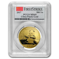 2017 China 30 Gram Gold Panda MS-69 PCGS (FS) - SKU#151925