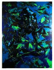 """""""Black Panther"""" by Mark King Signed Serigraph LE of 325 30"""" x 40"""" w/ CoA"""