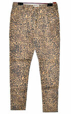 K. Jordan Women's Colored Denim Skinny Pants in  Leopard - 18