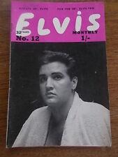Original Elvis Memorabilia Handbooks/Annuals