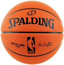 Spalding 6041 NBA Rubber Basketball, Size 7