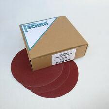 100 Discos de lijado 150mm adherente P180 sin orificio DISCOS Excéntricos eckra