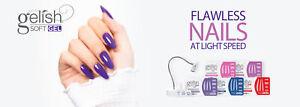 Gelish Soft Gel Flawless Nails at Light Speed Tips Box 550 pcs - Pick any shape.