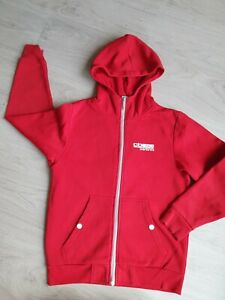 Carbrini - Boys zipped Hoodie in red Age 10-11 Years, worn once