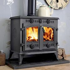 COSEYFIRE WINTERWARM BACK BOILER WOODBURNING CAST IRON STOVE FIRE  MULTIFUEL