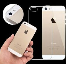 Ultra Crystal Clear Soft Silicone Transparent Gel Case cover for iphone 5/5S AS