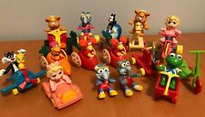 Vintage 1980's McDonald's Happy Meal Toys Baby Muppets, Garfield, Looney Tunes