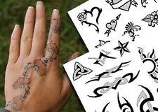 New Awesome Henna & Black Jagua Temporary Tattoo Kit th
