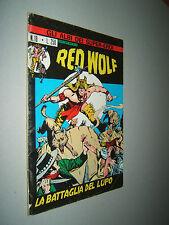ASE N. 18 ** RED WOLF N. 2 **  ED. CORNO ORIGINALE