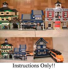GET 100+ LEGO  INSTRUCTIONS like TRAIN STATION great for 10219 Maersk Train
