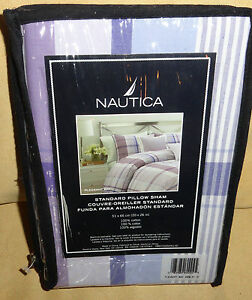NAUTICA PLEASANT BAY STANDARD PILLOW SHAM 20 X 26 NEW