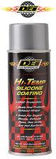 DEI 010302 Exhaust Wrap Header Downpipe Silicone Coating Silver Aluminum Hi-Temp