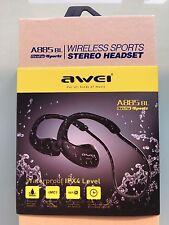 New Awei A885Bl Wireless WiFi Bluetooth V4.1 Waterproof Ipx4 HiFi Earphones Nfc