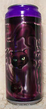 Cool Gear Can PURPLE REFLECTIVE CAT 16 oz Reusable Travel Drink Cup HALLOWEEN