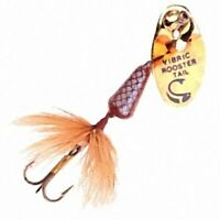 New Brown Mylar Vibric Rooster Tail  (1/16 oz ) Spinner Fishing Lure