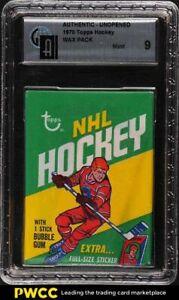 1970 Topps Hockey Wax Pack GAI 9