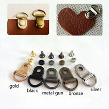 Metal Rivet D ring Lace Eye Boot Hiking Shoes Repair D-ring Buckle Leather Craft
