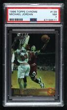 1996-97 Topps Chrome Michael Jordan #139 PSA 7 HOF