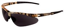 Bullhead Stinger Ballistic Rated Safety Sun Glasses Camo Frame Smoke Lens