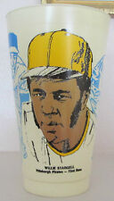 1976 VINTAGE WILLIE STARGELL COLLECTORS GLASS 7-11 RARE CLEARANCE