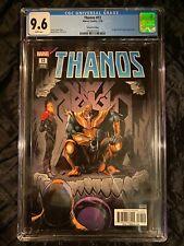 THANOS #13 • 2nd Print • 1st Cosmic Ghost Rider • 2018 Marvel Comics • CGC 9.6