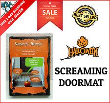 Pressure Sensitive Screaming Doormat Halloween Haunted House Decoration Prop