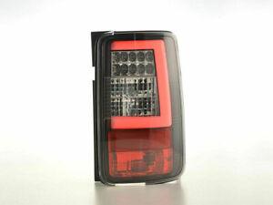 VW CADDY 2K MODEL 2003-2015 BLACK LED REAR LIGHTS LAMPS TAIL BACK LIGHTS
