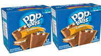 Kelloggs Pop Tarts Frosted S'mores Toaster Pastries x2 Pack Lot 24 Total Smores