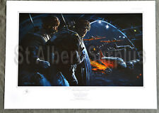 WW2 CANADIAN PARATROOPER PRINT - 8 MINUTES AFTER MIDNIGHT - ROBERT BAILEY