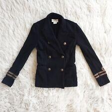 Denim & Supply Ralph Lauren Women's Navy Military Jacket Black  XS
