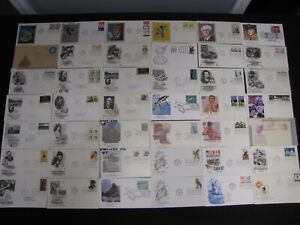 WOAH COOL LOT 500 FDC FEATURING SILKS SPORTS MUSIC COMBOS BLOCKS US COVERS