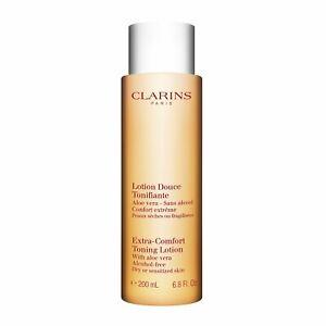 CLARINS Extra-Comfort Toning Lotion w/Aloe Vera, 200ml/6.8 oz NEW, Sealed