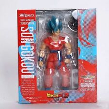 S.H.Figuarts Dragon Ball Z Super Saiyan God SS Son Goku Gokou Figure
