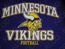 Nfl Minnesota Vikings Football Men's Purple T-shirt size Medium