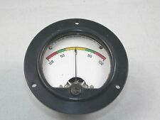 "Simpson Microamperes Panel meter  100 - 0 -100  Model 25   3.5"""