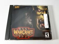Warcraft Reign of Chaos - PC CD-ROM Game - Windows MAC - Blizzard 2002 w/ Key