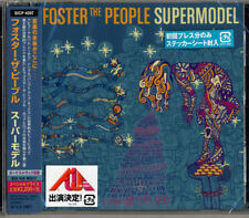 FOSTER THE PEOPLE-SUPER MODEL-JAPAN CD BONUS TRACK Ltd/Ed E78