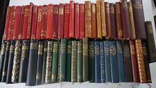 53 x Antiquarische Halbleder Bände - Dekorativ - PA 2