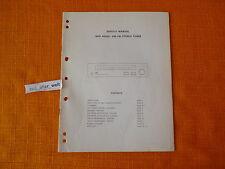SERVICE MANUAL NAD 4020A english ORIGINAL Schaltplan Reparatur Anleitung