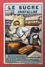 CPA. Le SUCRE Cristallisé. Cuisine. 1907? Publicité Maggi. Confitures. Sténo.
