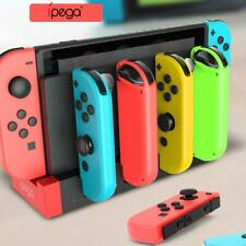 For Nintendo Switch Joy-Con Handles 4 Port Charger Adapter Charging Dock Station
