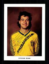 Stefan Rehn Autogrammkarte Nationalmannschaft Schweden 90er Jahre  + A 204632