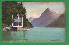 gö Schweiz Wilhelm Tell Tellskapelle Vierwaldstättersees Sisikon um 1905