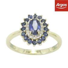 Excellent Cut Gold Sapphire Fine Diamond Rings