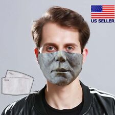 Michael Myers Face Mask Horror Fabric Reusable Washable USA Made (with Filter)