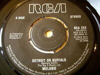 "MELANIE - DETROIT OR BUFFALO   7"" VINYL"